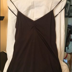 Women's size Large beaded camisole with self bra
